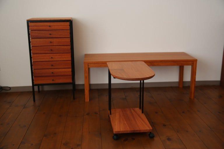 カリン材の家具