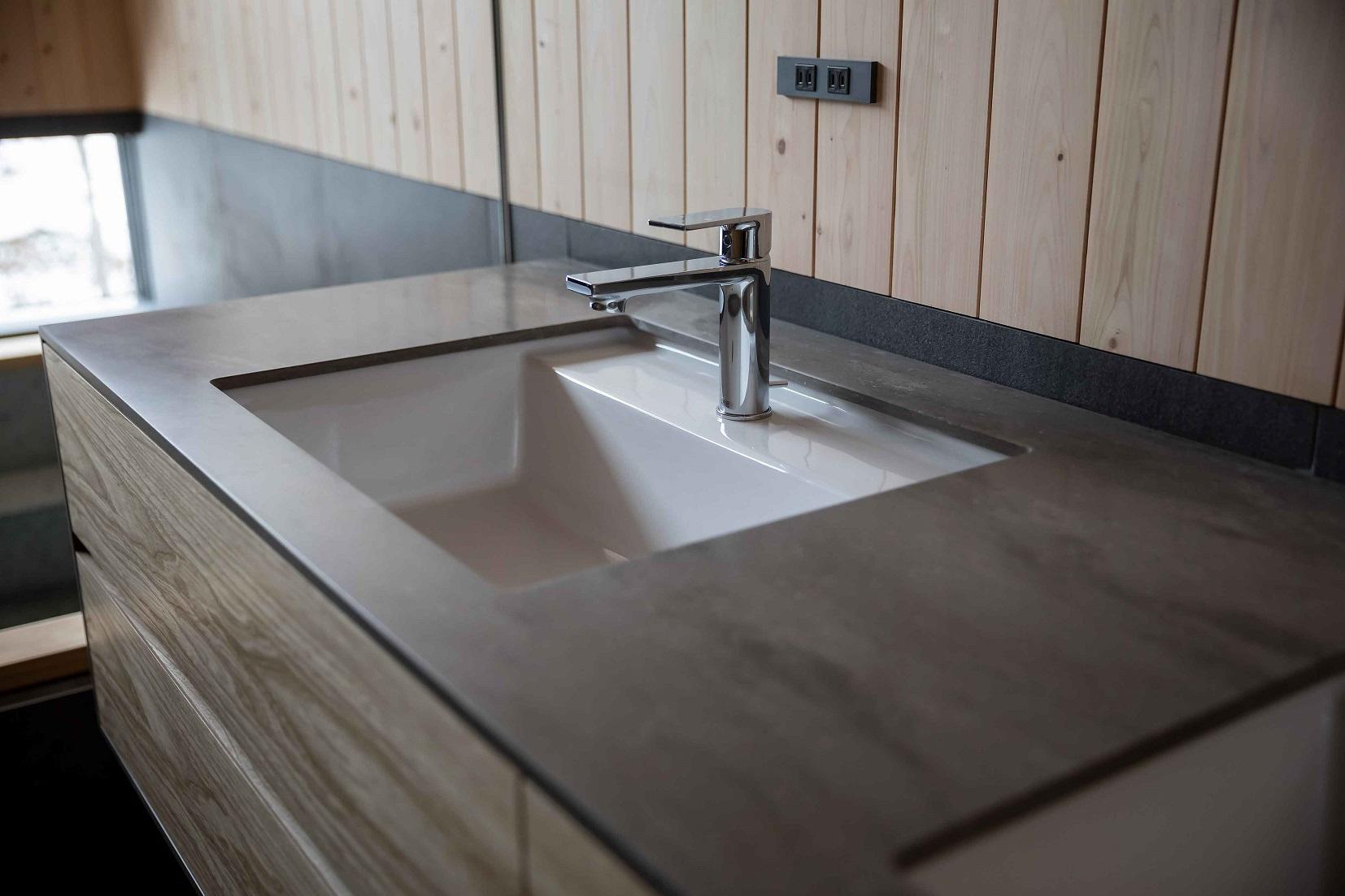 澪工房のオーダー洗面台